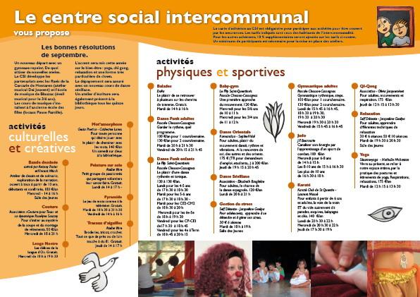 le centre social intercommunal
