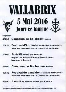 2016-05-05 Journée taurine